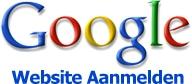 Website aanmelden bij google