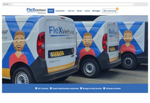 recent project flexverhuur