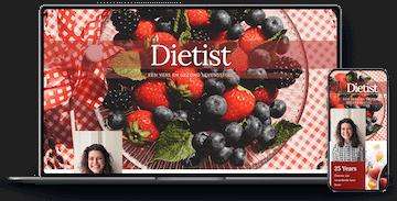 Portfolio website Diëtist