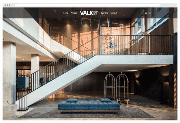 recent project Valk Interiors East