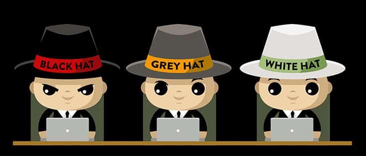 White hat, black hat, grey hat