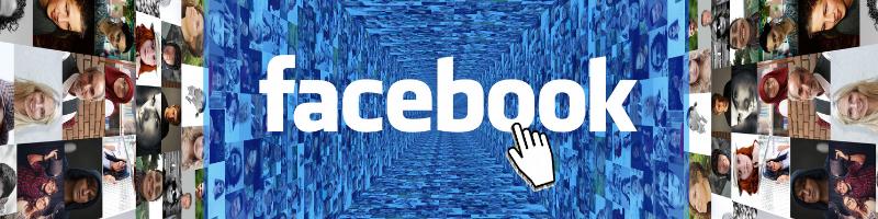 Groot netwerk van Facebook