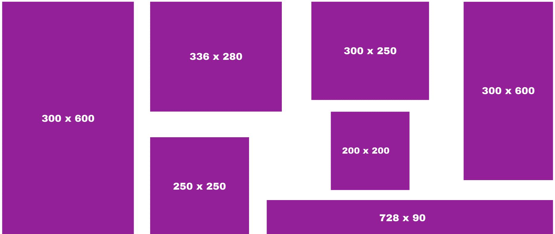 Meest voorkomende formaten voor de desktop